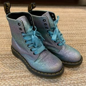 Dr. Martens 1460 pascal glitter boots